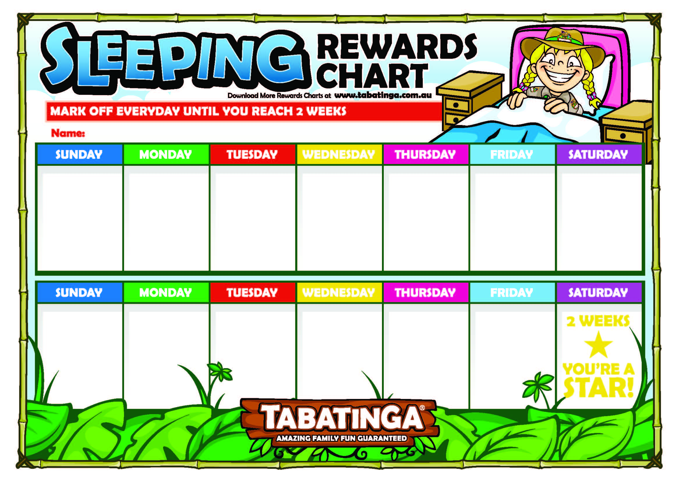 after two weeks of completing the task your child is well on the way to forming a positive habit and you can reward them with a special treat hint maybe a